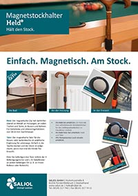 Datenblatt Stockhalter Held prev